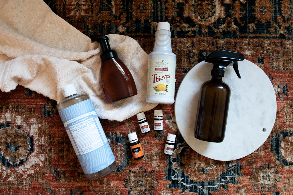 Essential Oils for Cozy Scents and Cleaning all the Things